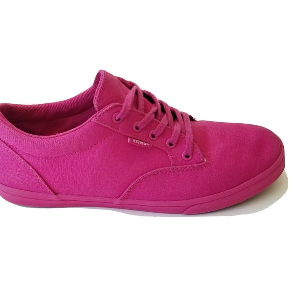 Women's Vans Sz 9 Canvas Sneakers Skate Shoes